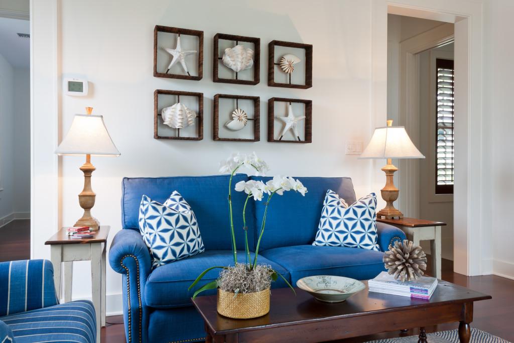 Coastal Guest Cabana in a Windsor Home Jill Shevlin Design Vero Beach Interior Designer