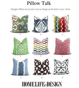 Designer Pillows from Etsy