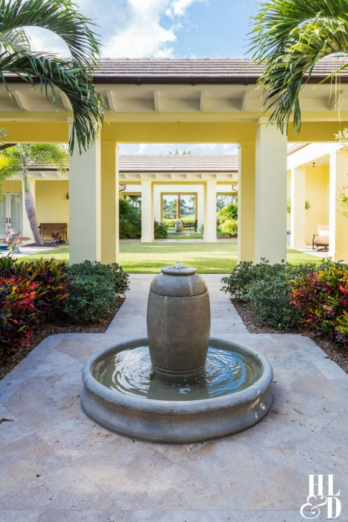 Courtyard Living, Orchid Island Homes, Vero Beach Courtyard Homes, Jill Shevlin Design, Vero Beach Inteior Designer