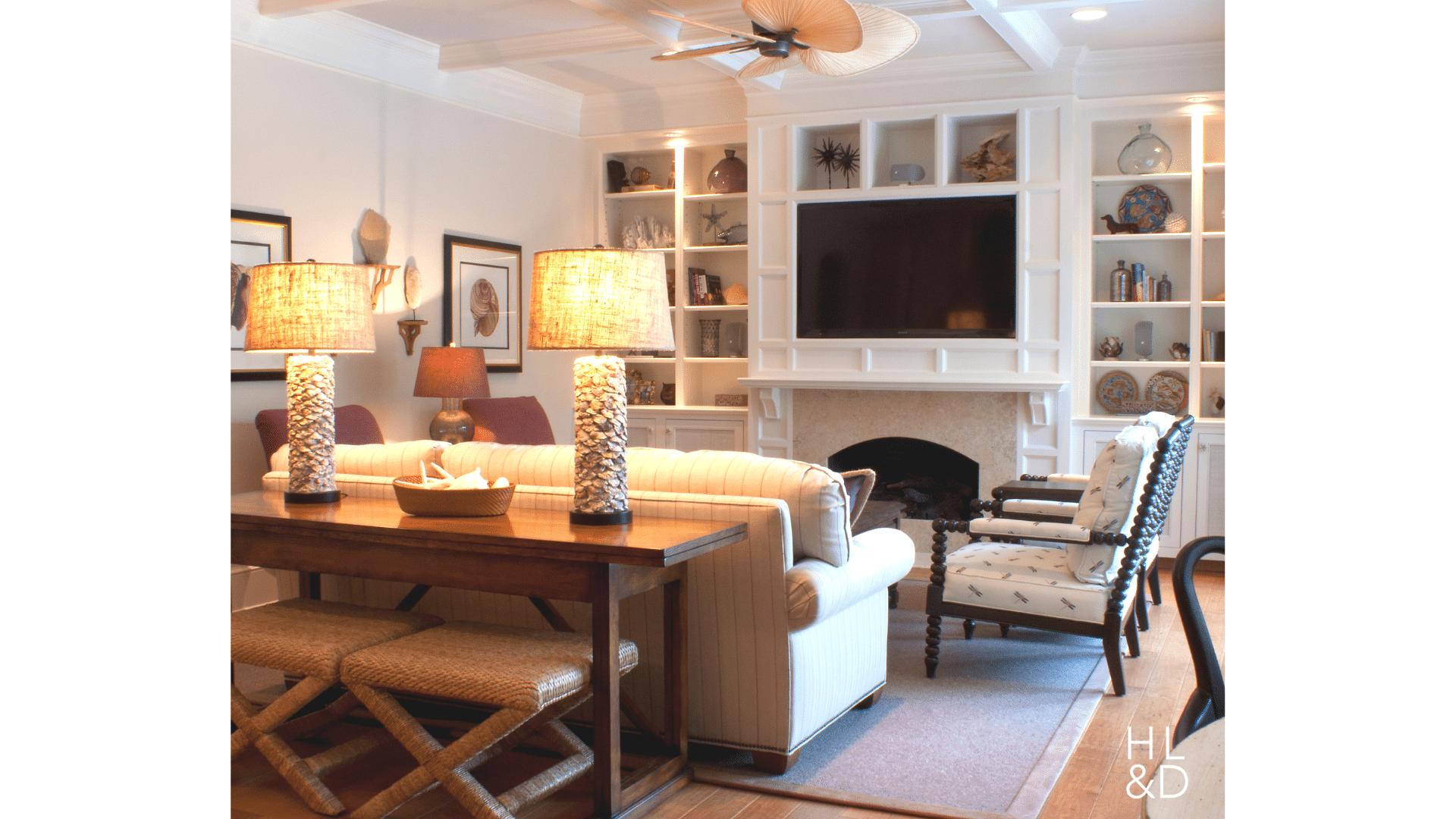 passion For Purple Vero Beach Coastal Family Room Jill Shevlin Vero Beach Interior Designer