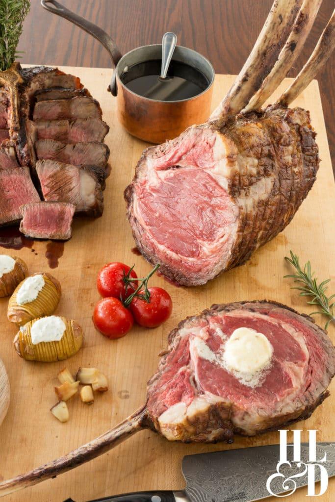 Citrus Grillhouse Vero Beach - Beef It's What's For Dinner - Filet Mignon, PorterHouse Steak, Tomahawk Strips, Hassleback Potatoes