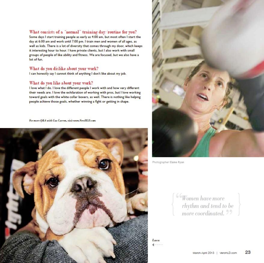 House of Champions Boxing Club Vero Beach - Gus Curren - Home Life & Design