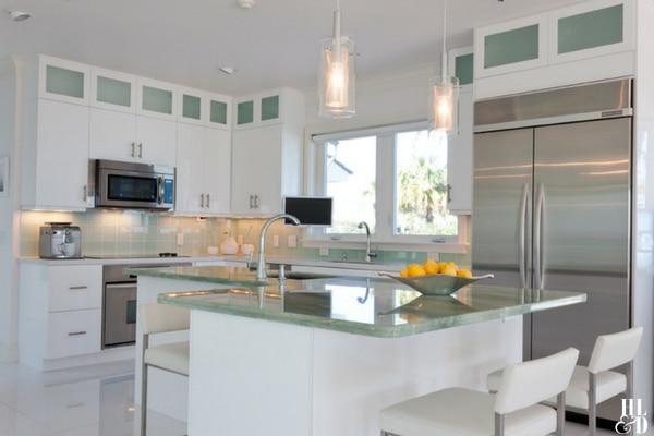 Coastal Contemporary Kitchen Design