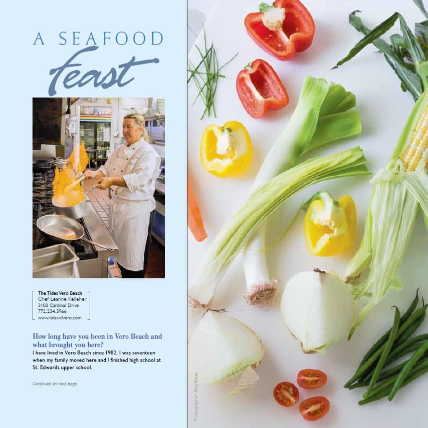THE TIDES VERO BEACH - CHEF LEANNE KELLEHER