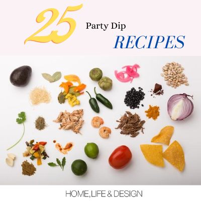 25 Tasty Dip Recipes with High & Low Calorie Count