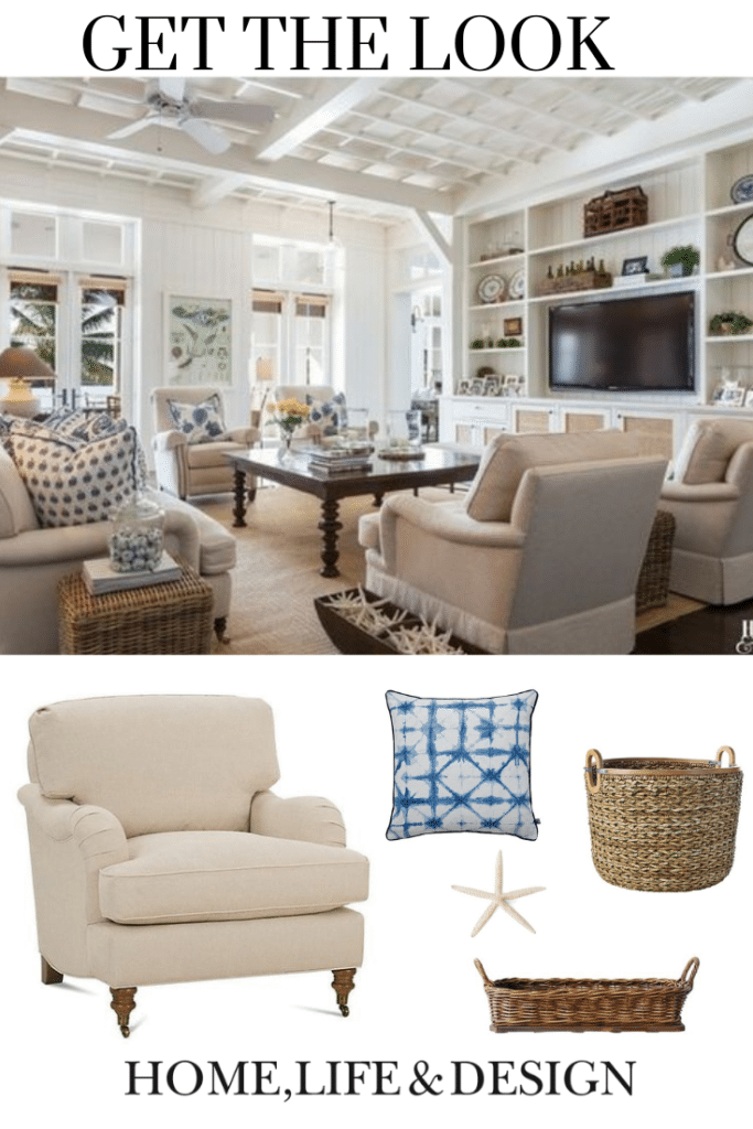 Home Life & Design Get the Coastal Casual Family Room Look