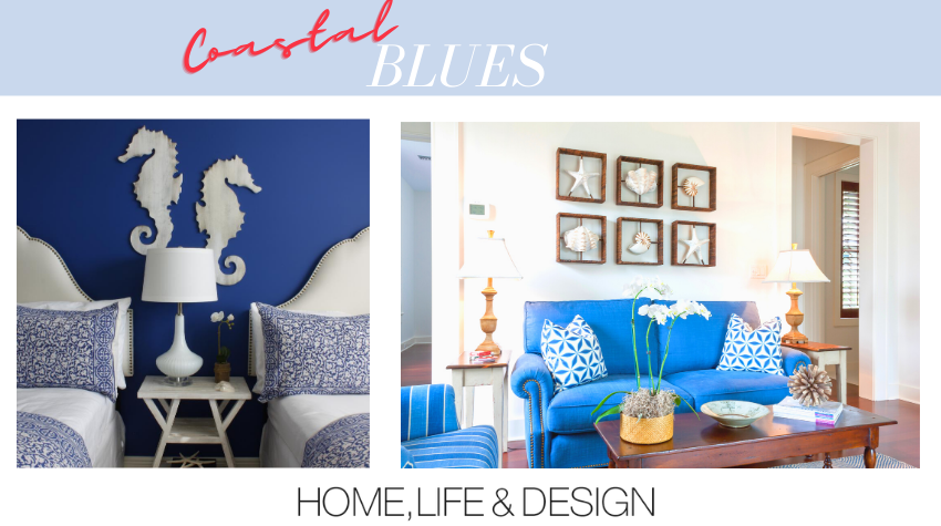 Coastal Blues Rooms with Blue